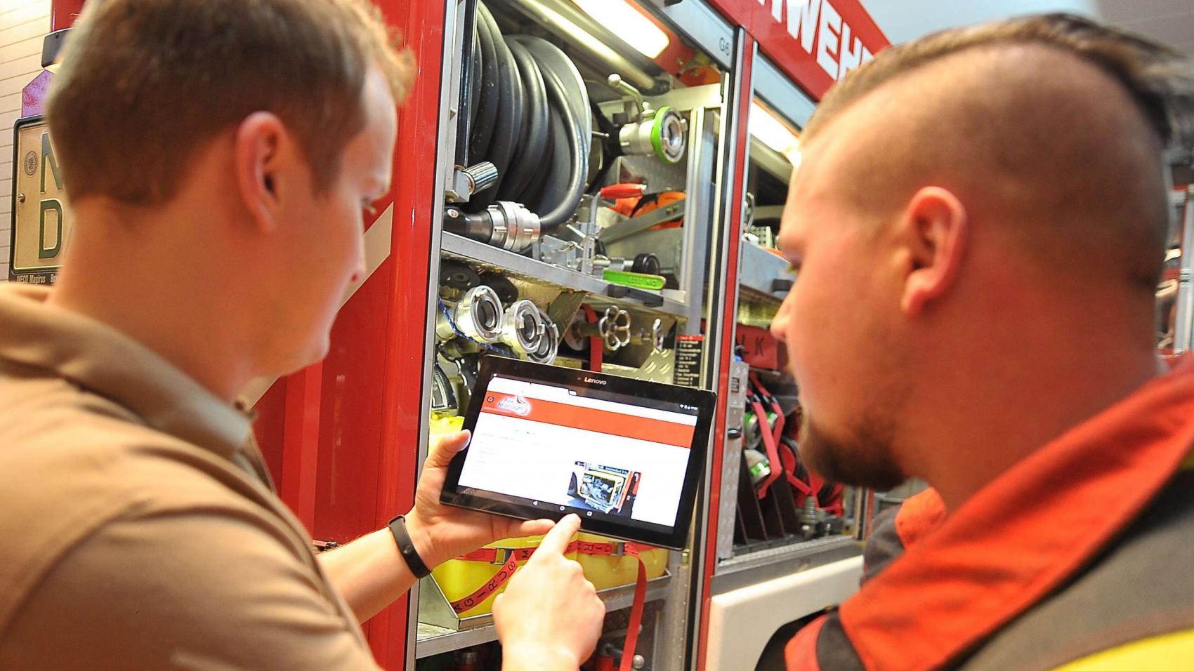 FM_Tablet mit Firemanager