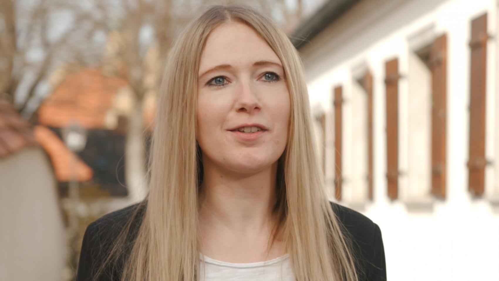 Juliane Lang, Jungunternehmerin aus Vohenstrauß